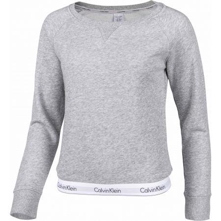 Dámská mikina - Calvin Klein TOP SWEATSHIRT LONG SLEEVE - 2