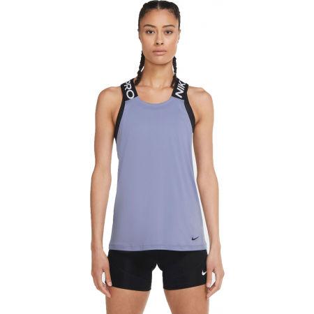 Nike NP DRY ELASTIKA TANK ESS W - Damen Trainingstop