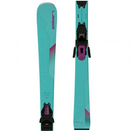 Elan WILDCAT 76 LS+ELW 9 - Dámske zjazdové lyže