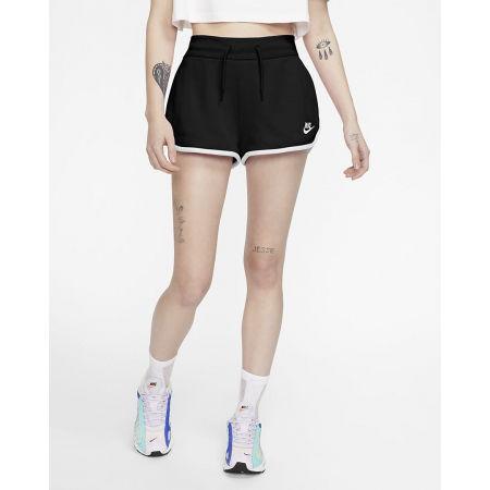 Dámské šortky - Nike NSW HRTG SHORT FLC W - 3