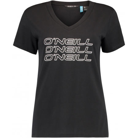 Women's T-shirt - O'Neill LW TRIPLE STACK V-NECK T-SHIR - 1