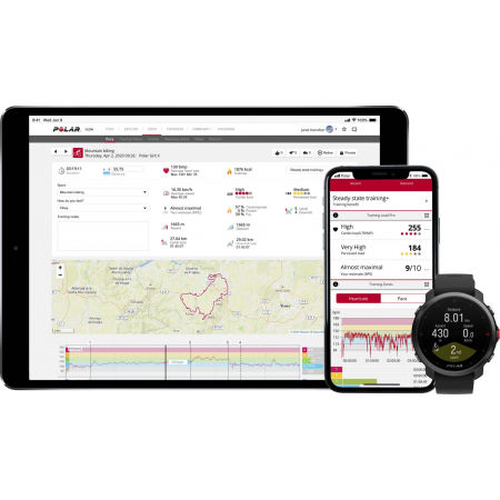 Zegarek sportowy z GPS i pomiarem tętna - POLAR GRIT X - 11