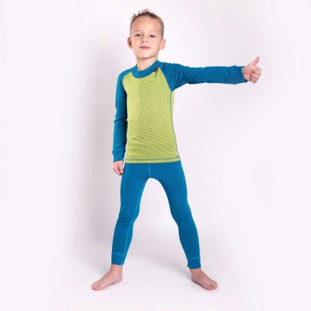 Boys' functional T-shirt - Progress MICROSENSE LS - 4