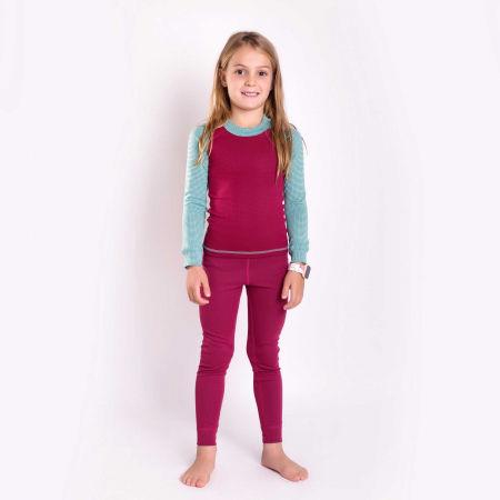 Girls' functonal T-shirt - Progress MICROSENSE LS-G - 2