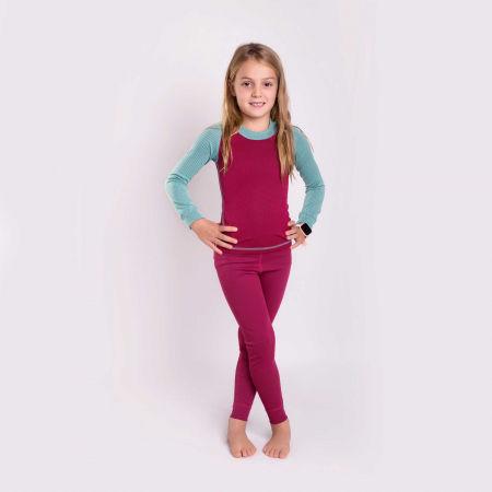 Dívčí funkční spodní kalhoty - Progress MICROSENSE LT-G - 3