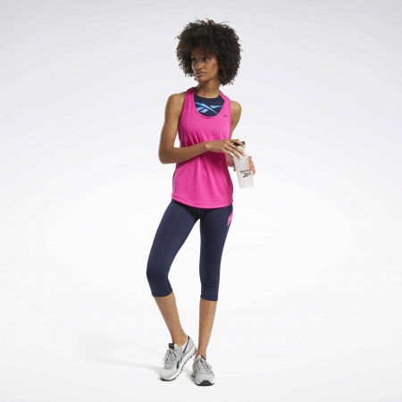 Women's tank top - Reebok US PERFORM MESH TANK - 5