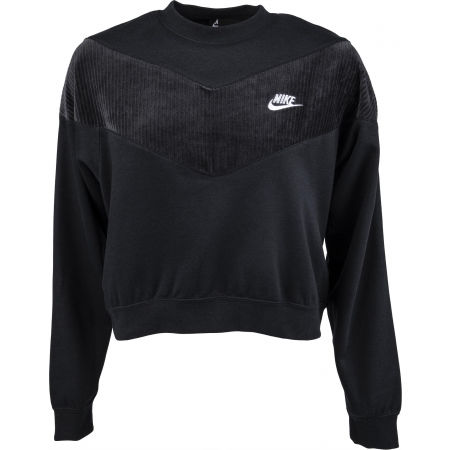 Nike NSW HRTG CREW VELOUR W - Women's sweatshirt