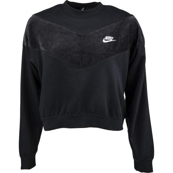 Nike NSW HRTG CREW VELOUR W  M - Dámská mikina