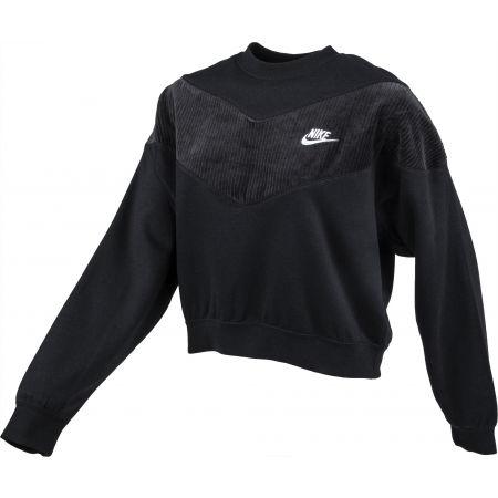 Hanorac damă - Nike NSW HRTG CREW VELOUR W - 2