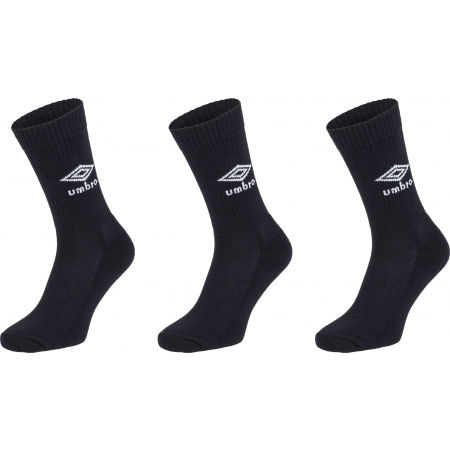 Umbro SPORTS SOCKS - 3 PACK - Zokni