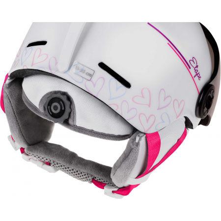 Dětská lyžařská přilba s visorem - Etape SPEEDY PRO - 2