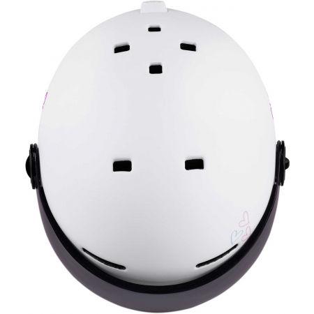 Dětská lyžařská přilba s visorem - Etape SPEEDY PRO - 4