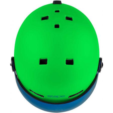 Children's ski helmet with a visor - Etape SPEEDY PRO - 4