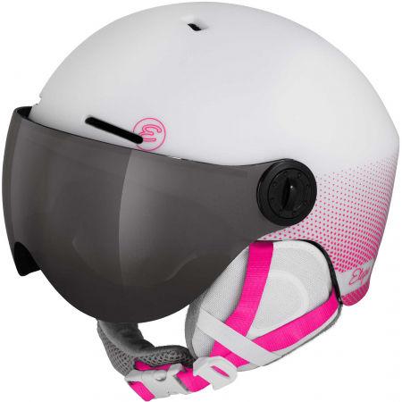 Etape SPEEDY PRO - Children's ski helmet with a visor
