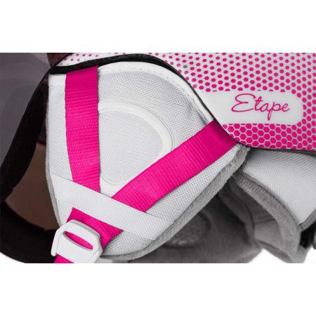 Dětská lyžařská přilba s visorem - Etape SPEEDY PRO - 3