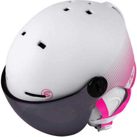 Dětská lyžařská přilba s visorem - Etape SPEEDY PRO - 5