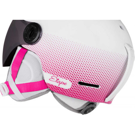 Dětská lyžařská přilba s visorem - Etape SPEEDY PRO - 6