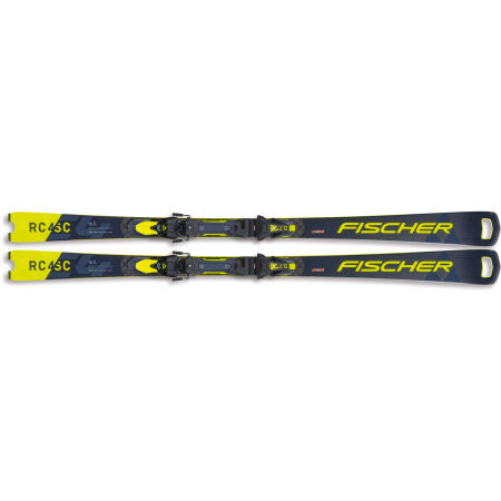 Downhill skis - Fischer RC4 WC SC FIS+Z12 - 2