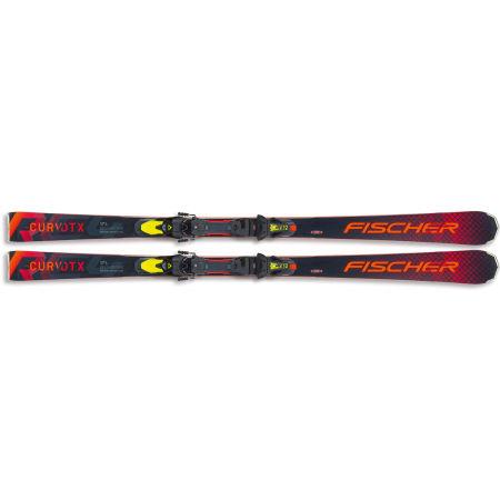 Downhill skis - Fischer RC4 CURV DTX +Z12 - 2