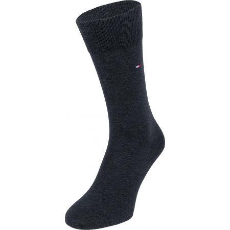 Pánské vysoké ponožky - Tommy Hilfiger SOCK 3P LOGO GIFTBOX - 6