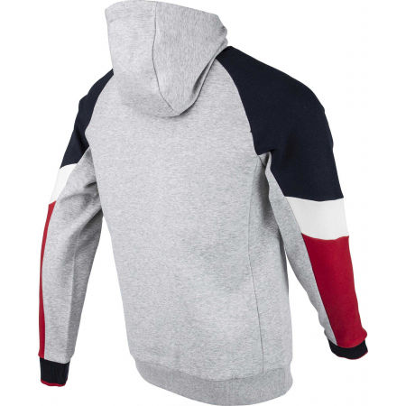 Men's sweatshirt - Tommy Hilfiger BLOCKED FLEECE HOODY - 3