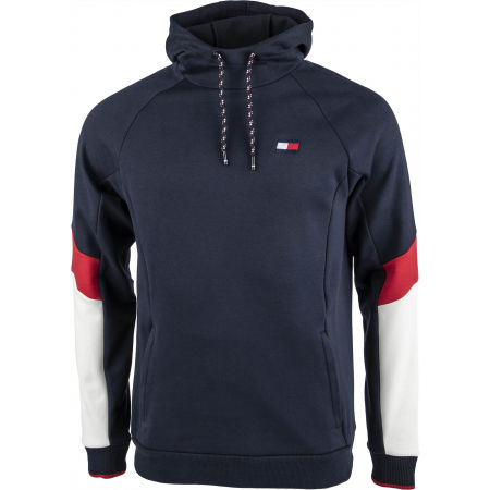 Tommy Hilfiger BLOCKED FLEECE HOODY - Мъжки суитшърт