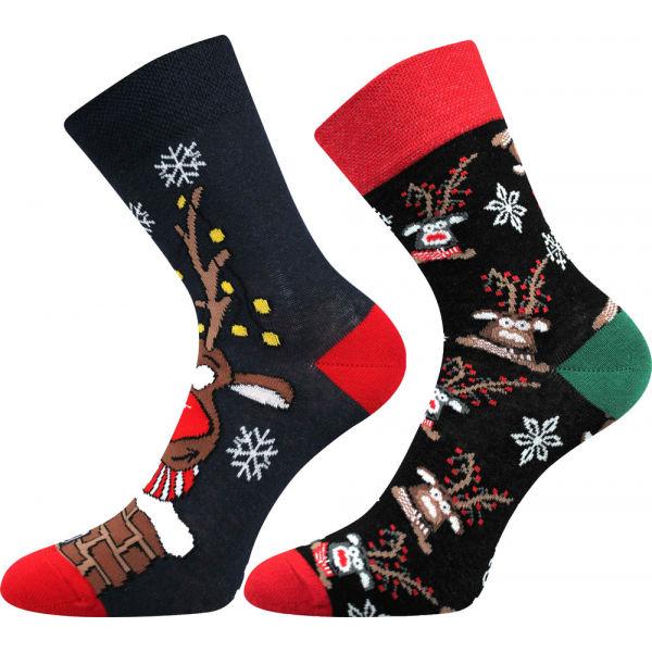 Lonka VIANOČNÝ SOB 2P - Ponožky