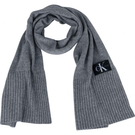 Calvin Klein J BASIC MEN KNITTED - Férfi sál