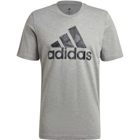 adidas CAMO TEE - Pánske tričko