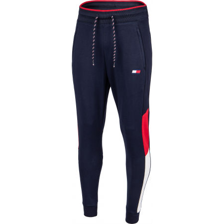 Tommy Hilfiger CUFFED BLOCKED  FLEECE PANT - Men's tracksuit bottoms