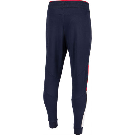 Men's tracksuit bottoms - Tommy Hilfiger CUFFED BLOCKED  FLEECE PANT - 3