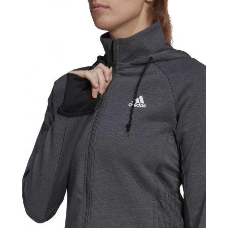 Дамски спортен суитшърт - adidas MT FZ HOODY - 6