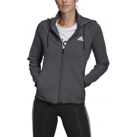 Дамски спортен суитшърт - adidas MT FZ HOODY - 2