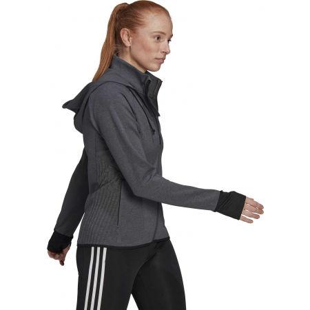 Дамски спортен суитшърт - adidas MT FZ HOODY - 3