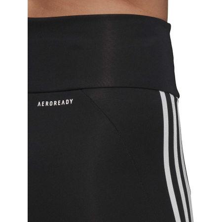 Colanți sport de damă - adidas 3S 34 TIG BLK - 5