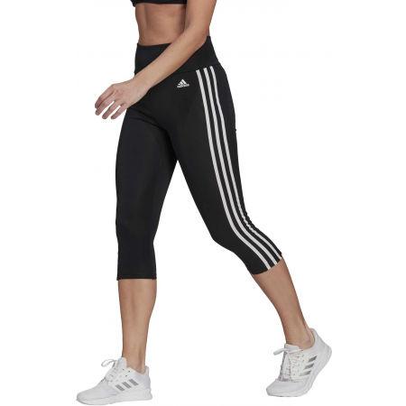 Colanți sport de damă - adidas 3S 34 TIG BLK - 2