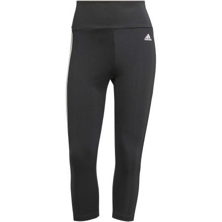 adidas 3S 34 TIG BLK - Women's sports leggings