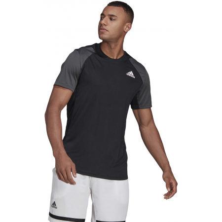 Men's tennis T-shirt - adidas CLUB TENNIS T-SHIRT - 3