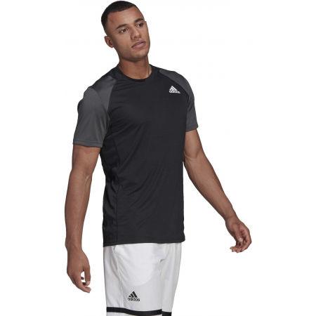 Men's tennis T-shirt - adidas CLUB TENNIS T-SHIRT - 4