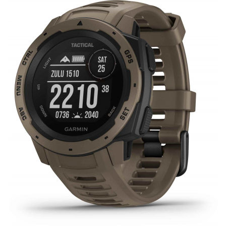 Garmin INSTINCT TACTICAL COYOTE TAN OPTIC - Zegarek sportowy