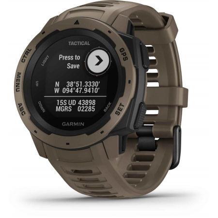 Спортен часовник - Garmin INSTINCT TACTICAL COYOTE TAN OPTIC - 2