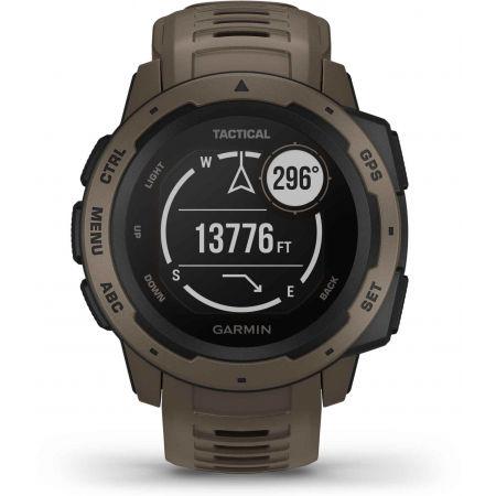 Спортен часовник - Garmin INSTINCT TACTICAL COYOTE TAN OPTIC - 9