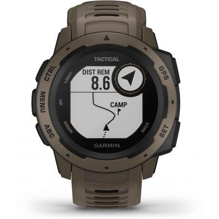 Спортен часовник - Garmin INSTINCT TACTICAL COYOTE TAN OPTIC - 10