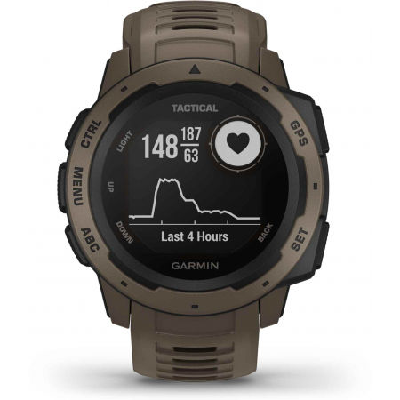 Спортен часовник - Garmin INSTINCT TACTICAL COYOTE TAN OPTIC - 11