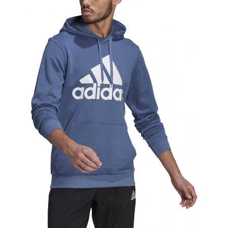 Pánská mikina - adidas BL FT HOODY - 4