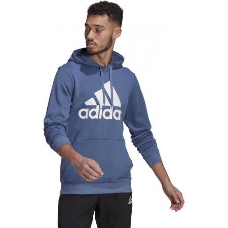 Pánská mikina - adidas BL FT HOODY - 2