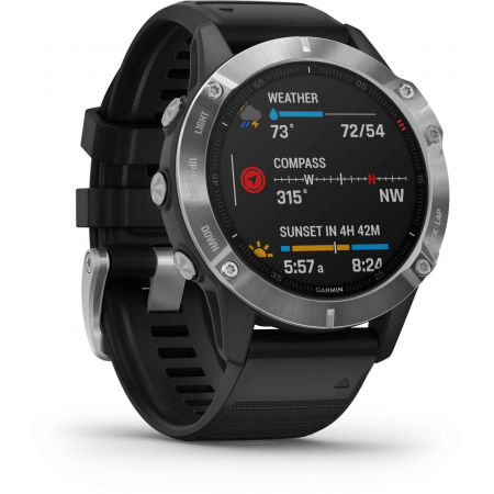 Multisportovní hodinky - Garmin FENIX6 GLASS - 14
