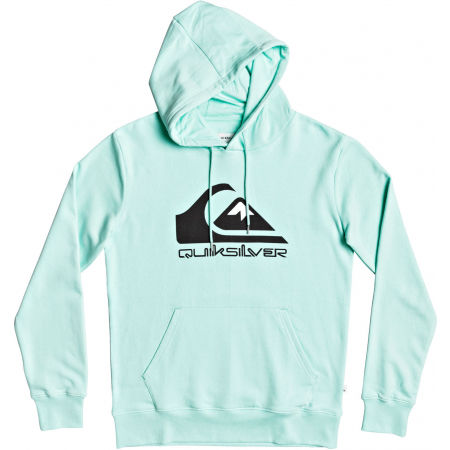 Quiksilver COMP LOGO SCREEN FLEECE - Férfi pulóver