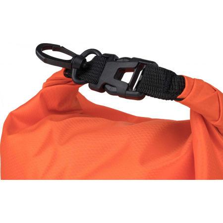Vodotěsný vak s rolovacím uzávěrem - Miton LT DRY BAG 10L - 4