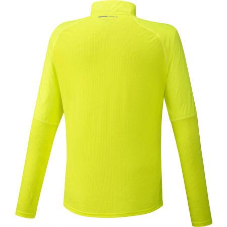 Мъжка функционална блуза с дълъг ръкав - Mizuno HYBRID DRY AEROFLOW LS HZ - 2